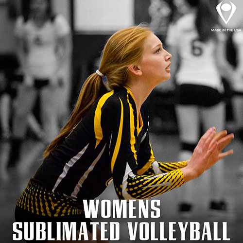 Womens Sublimated Volleyball