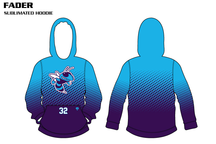 fader-sublimated volleyball hoodies
