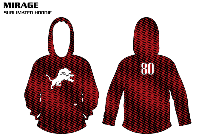 mirage-sublimated volleyball hoodies